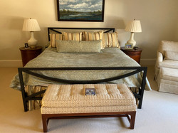 SOLD: King Iron Bed