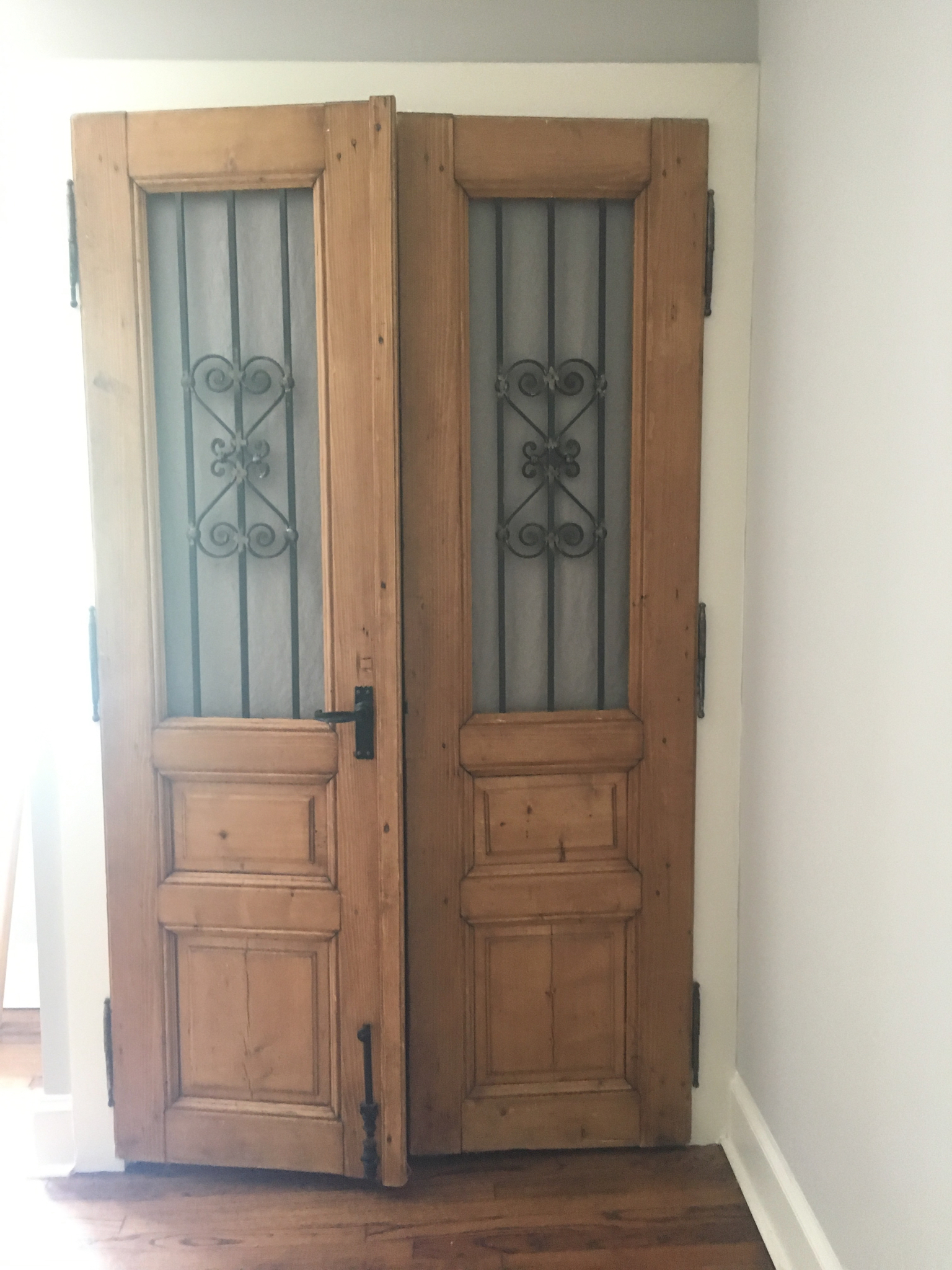 Primitive French Doors