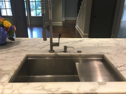 Stainless Sink & Faucet