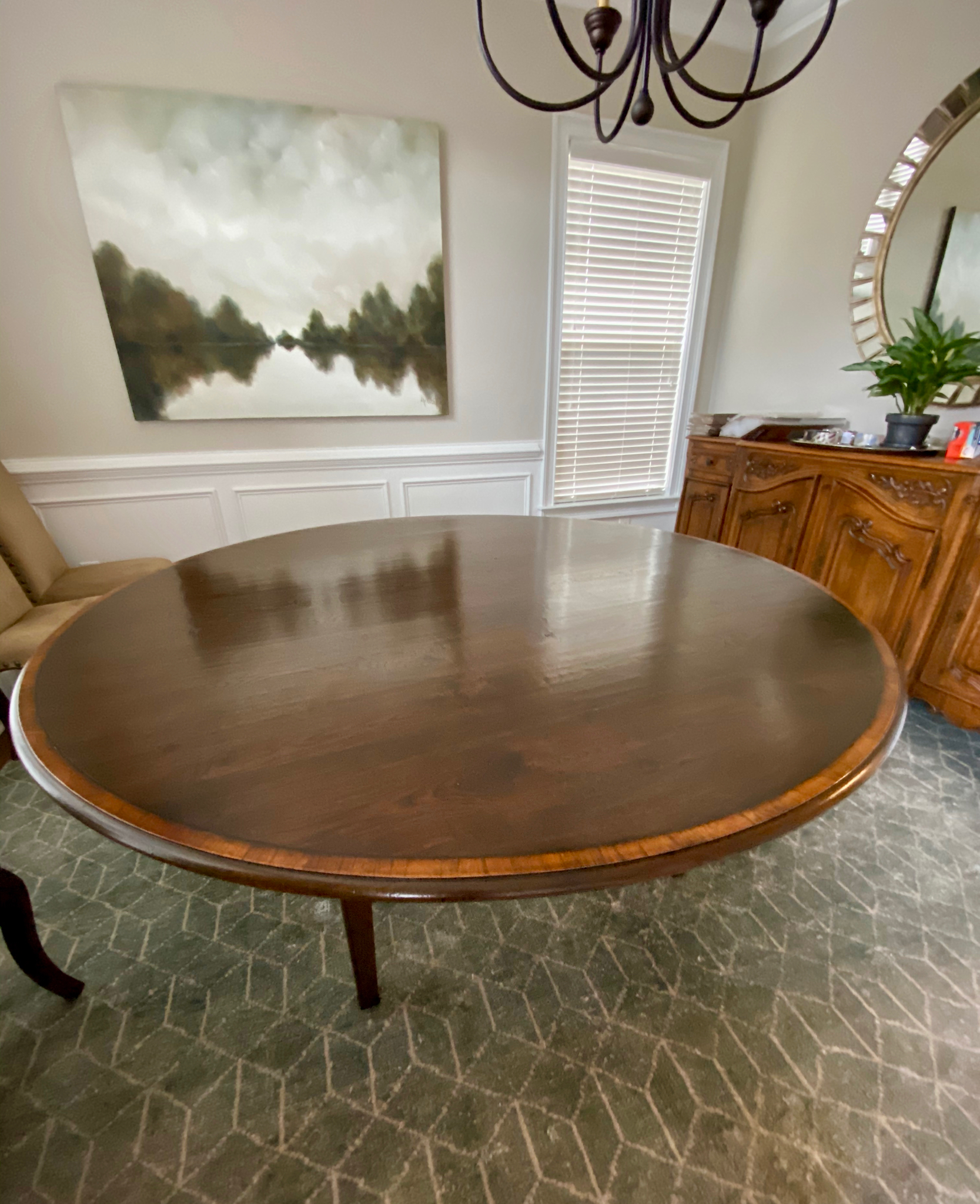 """72"""" Round Dining Table"""