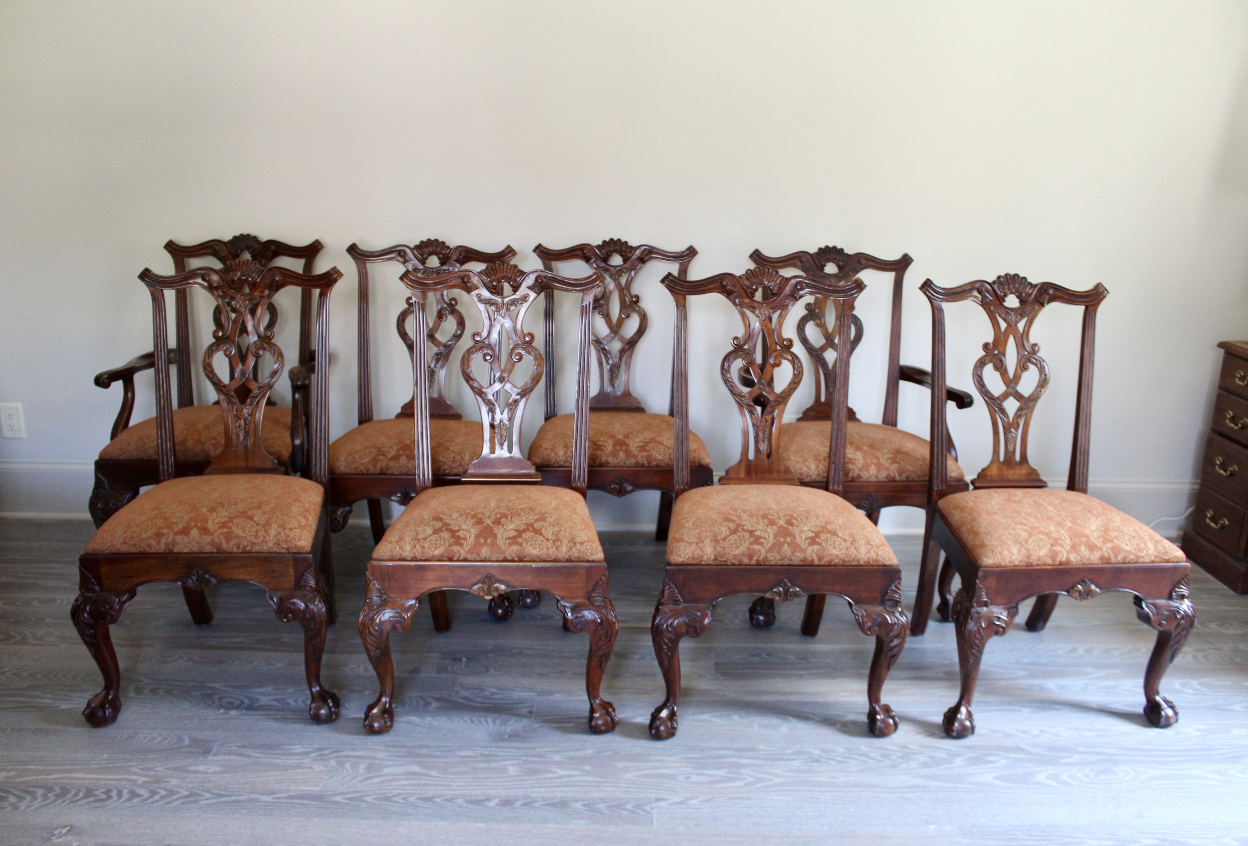 SOLD: Henredon Dining Chairs