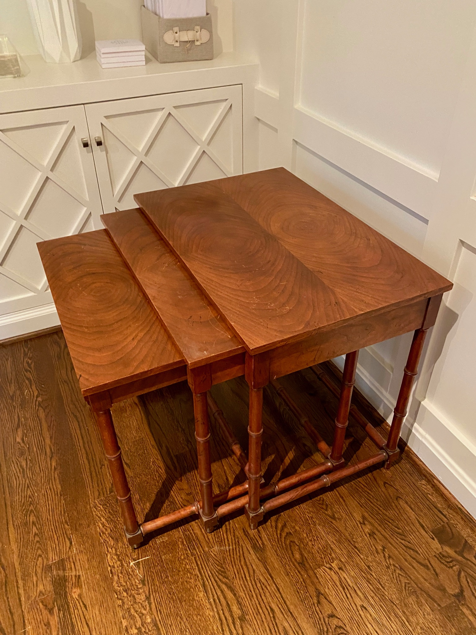 Bamboo Style Nesting Tables