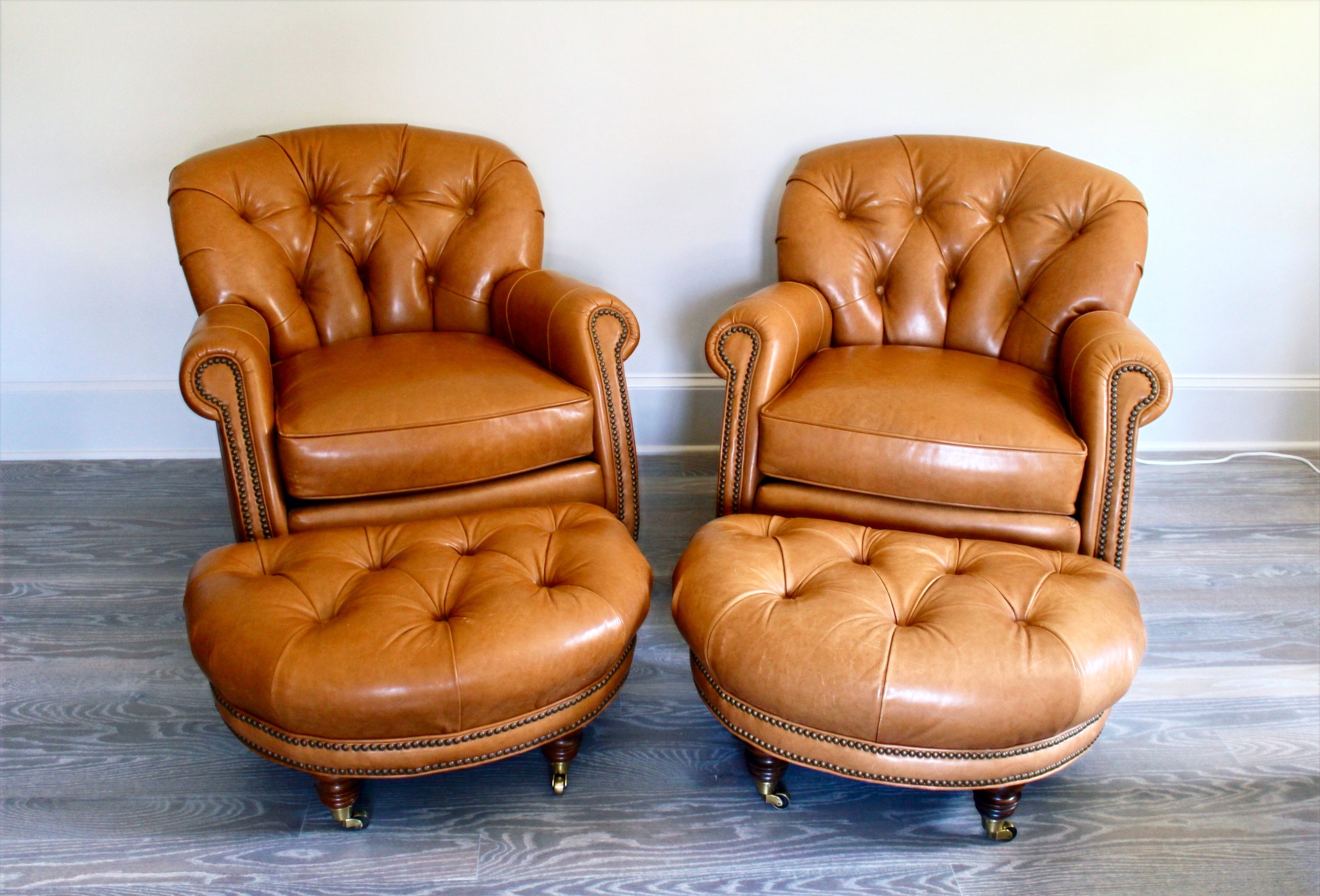 SOLD: Pair of Michael Taylor Chairs