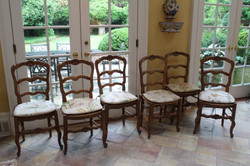 6 French Chairs