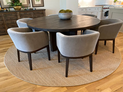 RH Dining Table & Chairs