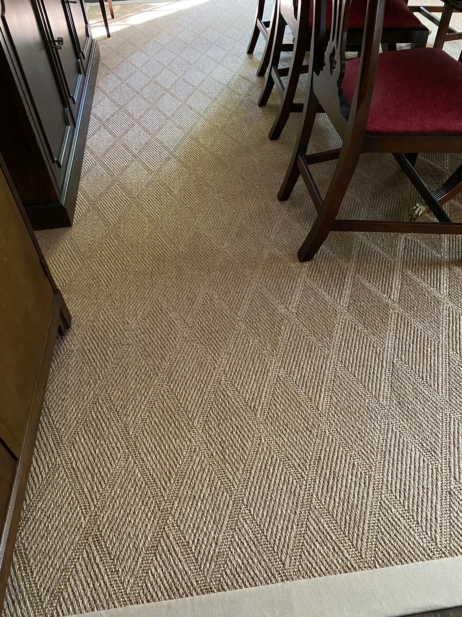 SOLD: Stark Diamond Sisal Rug