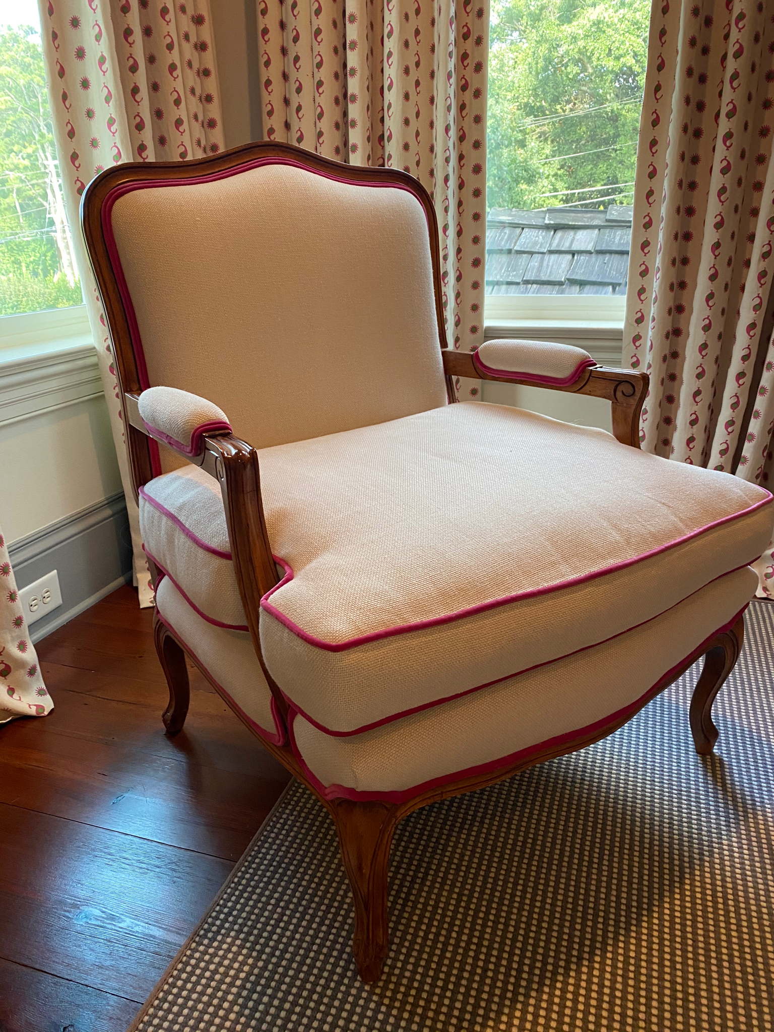 SOLD: Custom Louis XVI Armchair