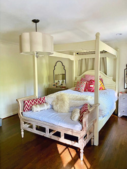 Custom Queen Canopy Bed
