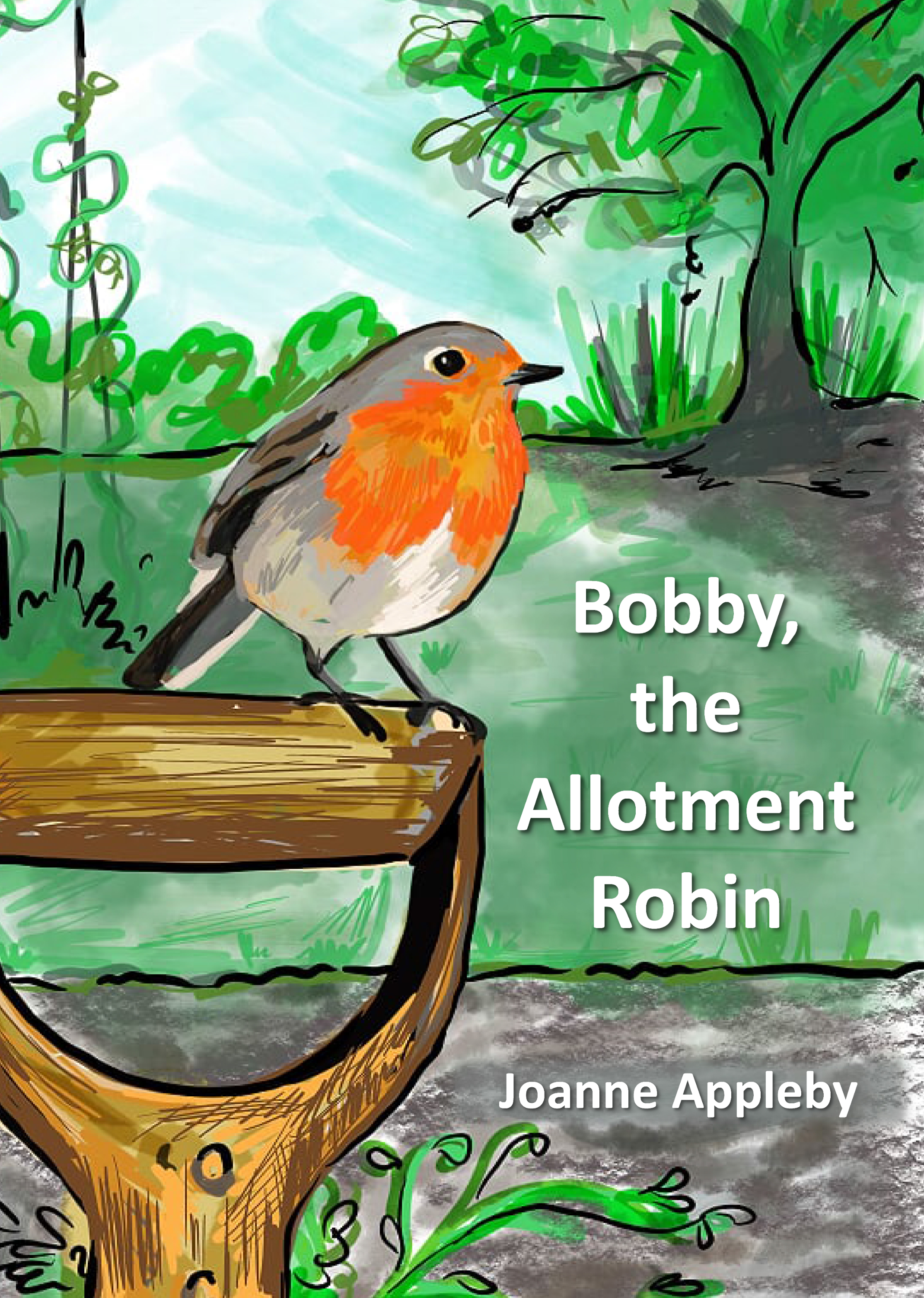 Bobby, the Allotment Robin