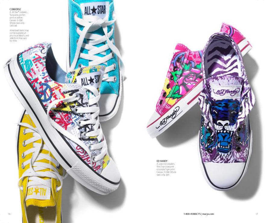 Macy's Converse