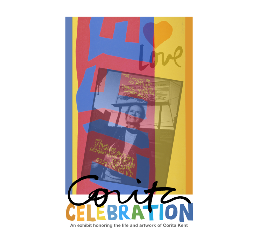 Corita Kent Exhibition Postcard