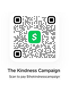 The Kindness Campaign CashApp QR Scan.jp