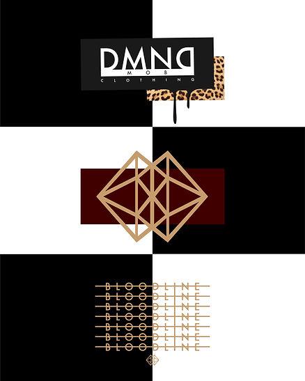 DMNDMOB Clothing Official Logo Kvnvas branding