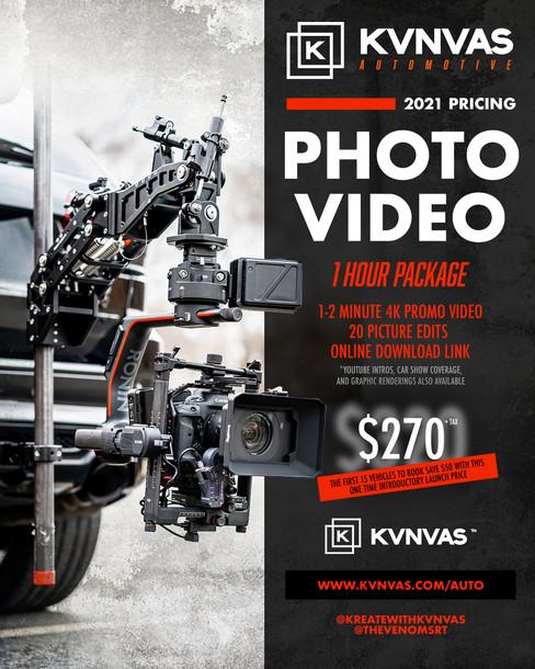 2021 Automotive Photo + Video Launch Dis