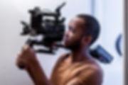 Kevin Kneeland operating Sony FS5 MII Camera Rig