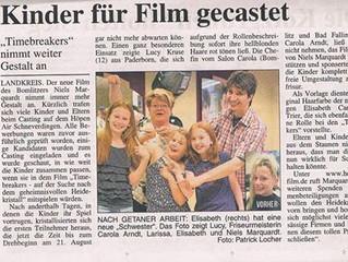 Kinder für Film gecastet