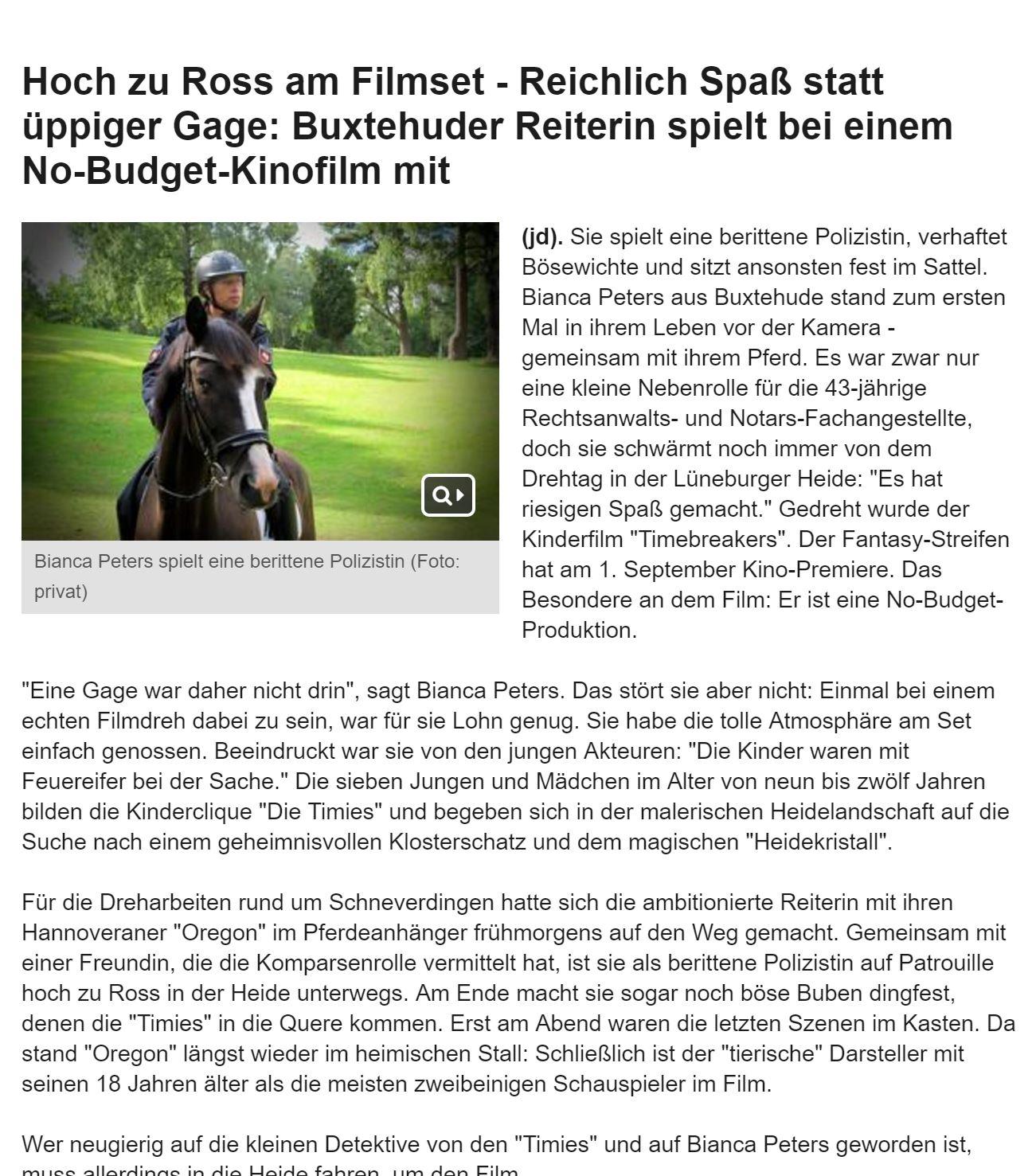 Kreiszeitung Buxtehude