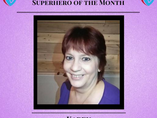 September Superhero of the Month