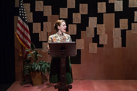 Erin Eva Butcher as Phyllis Schlafly in
