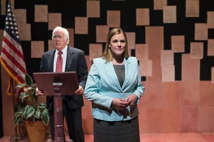 Richard Snee as President Gerald Ford an