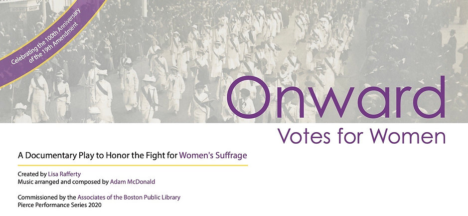 ONWARD - Votes for Women (horizontal - n