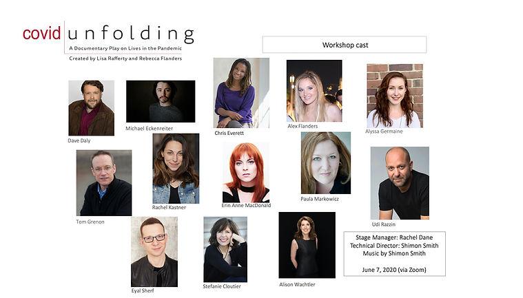 COVID Unfolding Workshop cast (horizonta