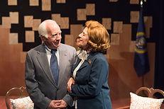 Richard Snee and Paula Plum as President