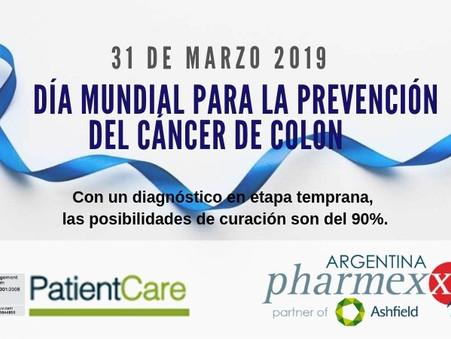 #MarzoAzul contra el cáncer de colon