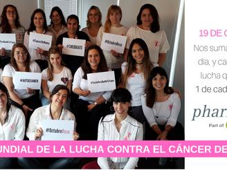Pharmexx se viste de rosa para prevenir el cáncer de mama