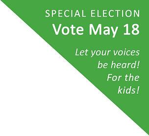 Vote May 18 - Bend-La Pine School Board.