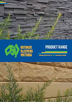 Outback Sleepers Retaining Walls Bricks Landscape Melbourne Victoria