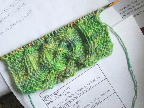 """Knitting """"How to's"""" with Debbie Munro of The Lace Knittery"""