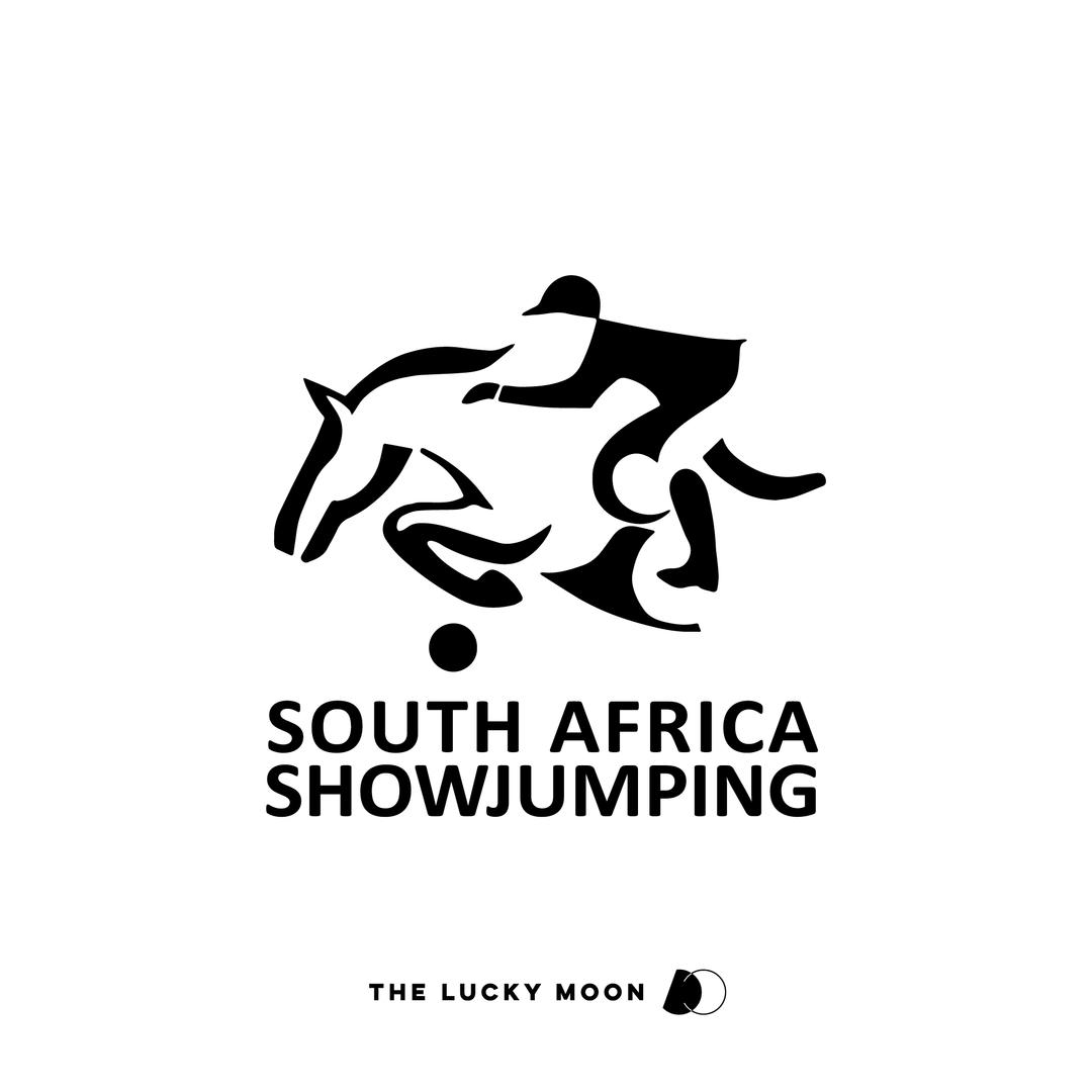 South Africa Showjumping National Emblem