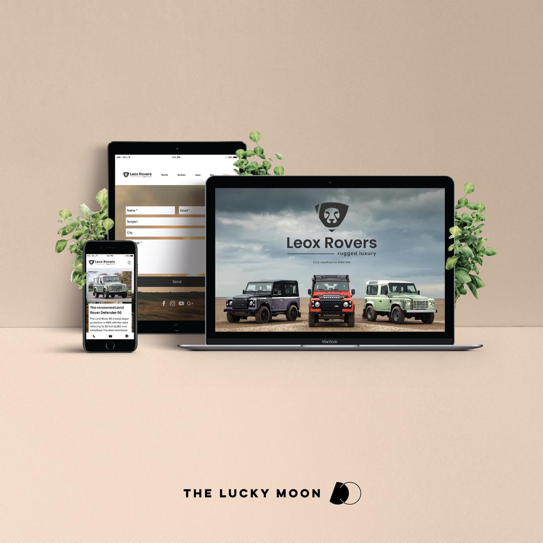 Leox Rovers Website