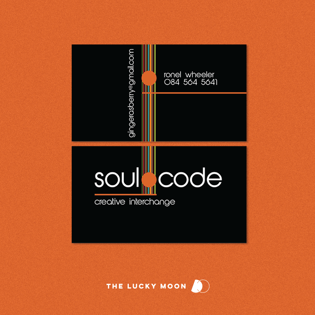 Soul Code Business Cards