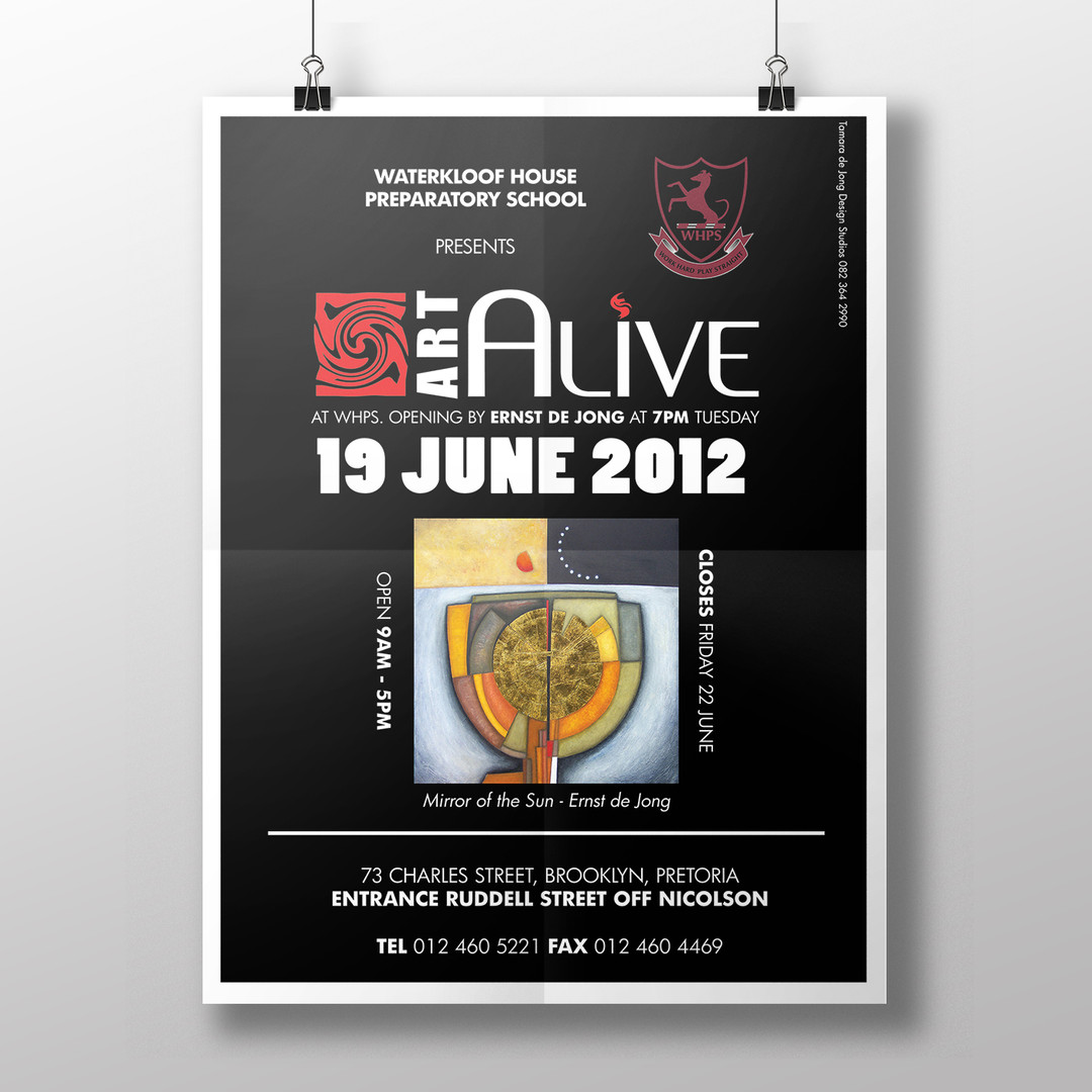Arts Alive Poster
