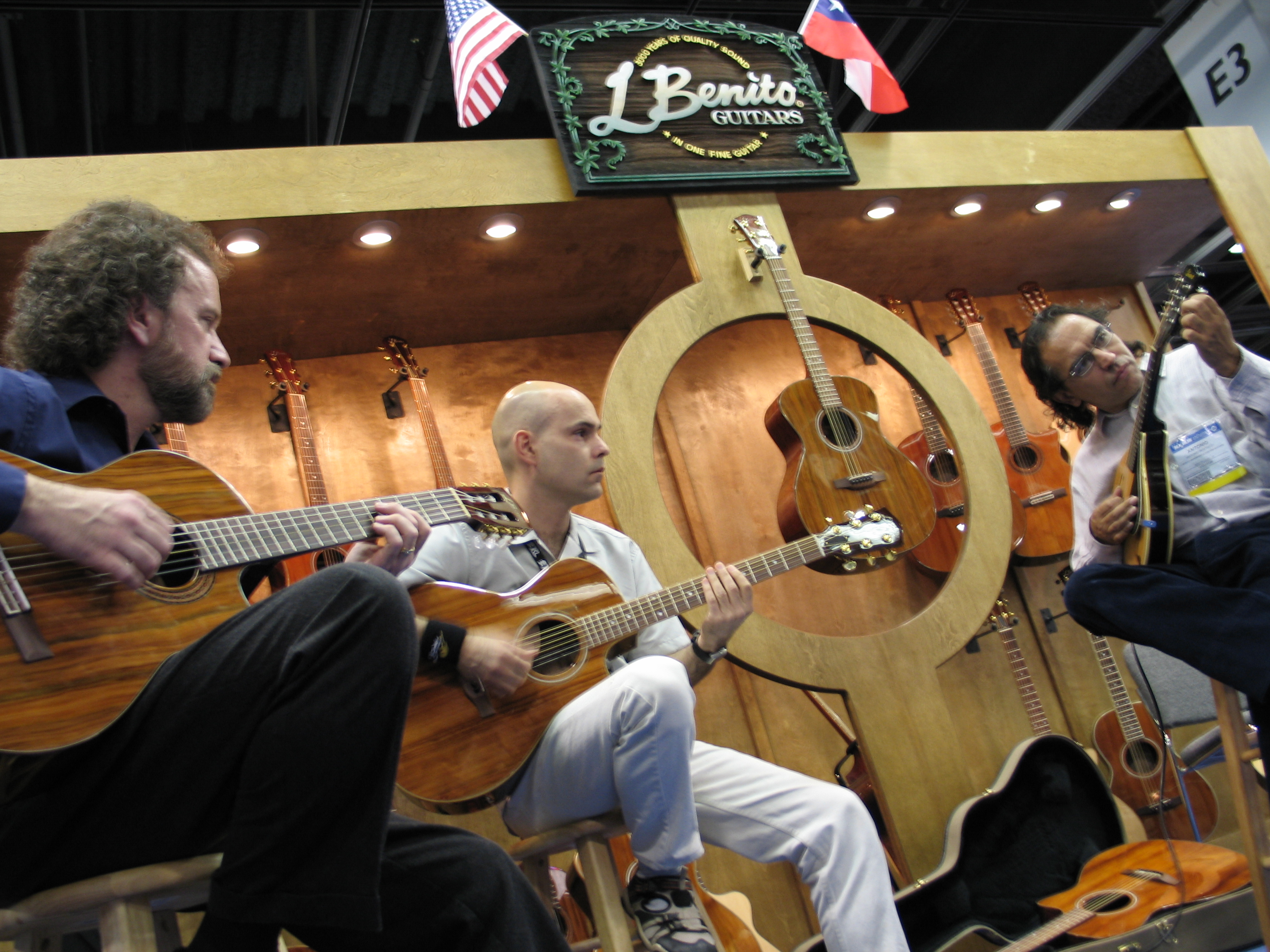 Namm Show, Los Angeles, California