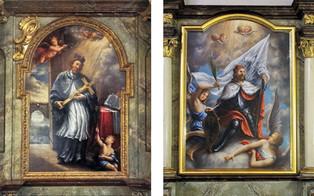 R. Klouza, oltářní obrazy II.