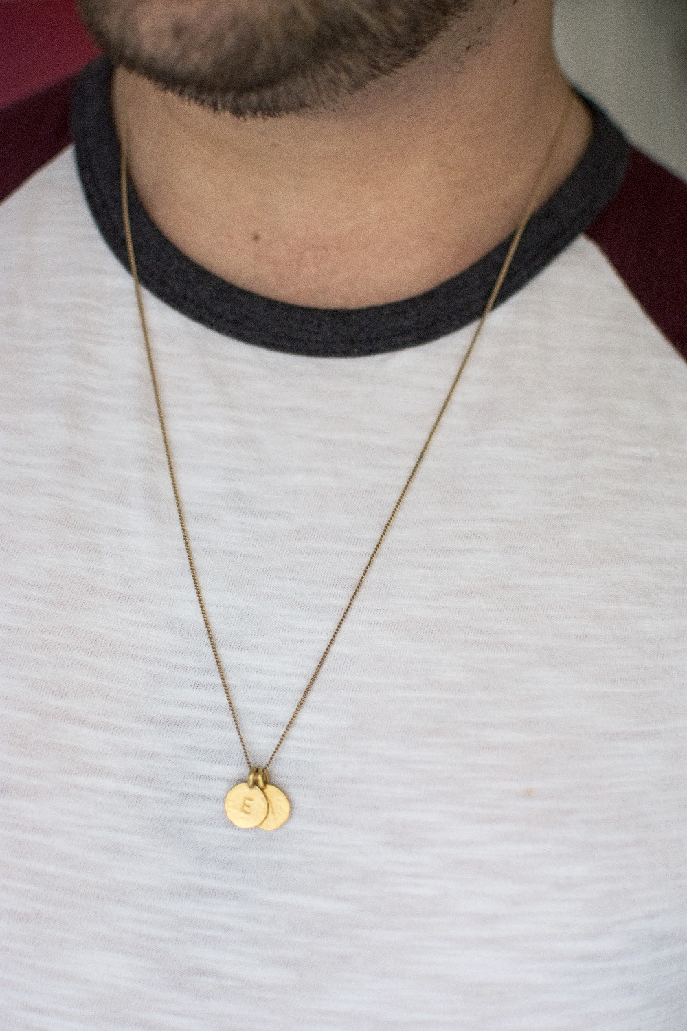 Kyle Chan Love Initials Necklace