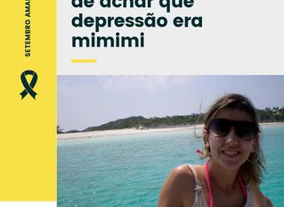 O dia em que deixei de achar que depressão era mimimi