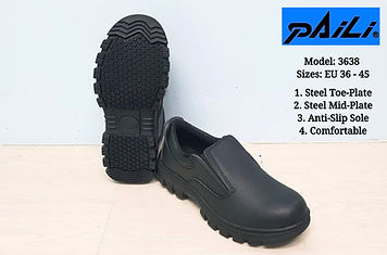 Steel Toe Safety Shoe that is highly comfortable and durable.