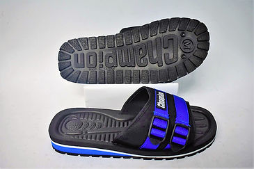 Sturdy and comfortable Champion slippers for the modern Singaporean consumer. They are sturdy and slip resistant in which it provides a good grip on different terrains. Scale Footwear Enterprise Pte Ltd is the importer, supplier, wholesaler and exporter of these Champion slippers in Singapore.