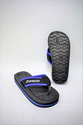 Champion PVC children slippers for the modern Singaporean kid. These slippers are highly comfortable and slip resistant. This ensures the safety of the user when walking on slippery terrains. Scale Footwear Enterprise Pte Ltd is the importer, supplier, wholesaler and exporter of these children slippers in Singapore.