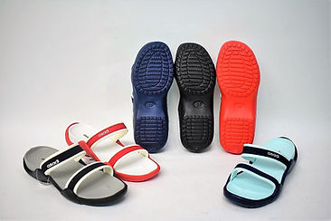 Comfortable Asadi EVA slippers for the modern Singaporean women. They are sturdy and slip resistant in which it provides a good grip on different terrains. Scale Footwear Enterprise Pte Ltd is the importer, supplier, wholesaler and exporter of these Asadi EVA slippers in Singapore.