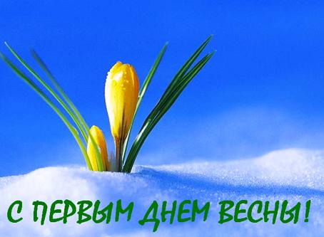 Поздравляем с началом весны друзья!!!