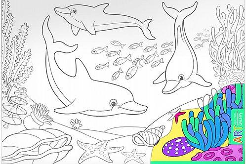 Основа для творчества большая Дельфины Айрис