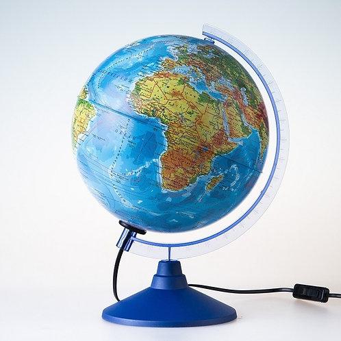 Глобус Земли физико-политический 250мм Globen
