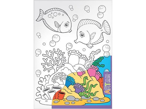 Основа для творчества средняя Морское дно Айрис