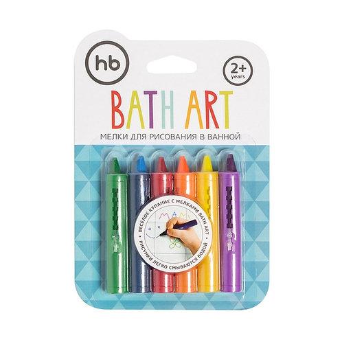 Мелки HAPPY BABY для ванной BATH ART