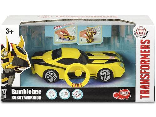 Машина пластиковая DICKIE Трансформер Bumblebee (свет, звук) 15см